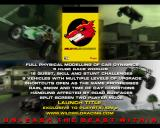 Wild Wild Racing PlayStation 2 The demo game is time limited and ends with a screen extolling the game's features