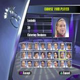 Weakest Link PlayStation In this game the player does not enter their name. They pick a player from this list. Each player says a bit about themselves. Lucinda is 39 and runs a catering business in Kensington (London UK).