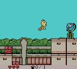 Tweety's High-Flying Adventure Game Boy Color Flying to the globe.