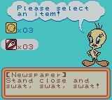 Tweety's High-Flying Adventure Game Boy Color Select an item.