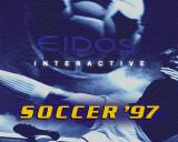 Soccer '97 PlayStation It's not on screen long but this is the game's title screen.
