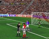 Soccer '97 PlayStation When a player is given a red or yellow card the game switches to a close-up