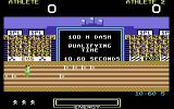 Hunchback at the Olympics Commodore 64 100m Dash.