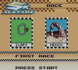 Suzuki Alstare Extreme Racing Game Boy Color First Race.