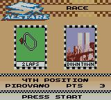 Suzuki Alstare Extreme Racing Game Boy Color Next race.