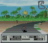 Suzuki Alstare Extreme Racing Game Boy Color At the beach.