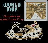 Speedy Gonzales: Aztec Adventure Game Boy Color World Map.