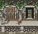 Speedy Gonzales: Aztec Adventure Game Boy Color Being chased.