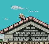 Speedy Gonzales: Aztec Adventure Game Boy Color On the rooftops.