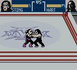 WCW Mayhem Game Boy Color Grappling again.