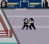 WCW Mayhem Game Boy Color Outside the ring.