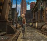 Final Fantasy XII PlayStation 2 One of the central districts of the game's biggest city. Cool tall buildings are ahead