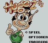 Hugo 2 Game Boy Color Title Screen.