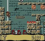 Montezuma's Return! Game Boy Color Careful of that pit.