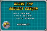 Drome Racers Game Boy Advance Race result.