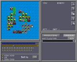 Colonial Conquest II Amiga Planet Setis, now a densely populated planet