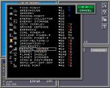 Colonial Conquest II Amiga Choose what to build