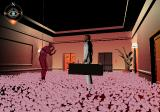 Killer7 PlayStation 2 Weirdly fascinating hotel floor covered by flowers