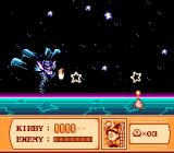 Kirby's Adventure NES Final boss - Nightmare Vampire