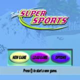 Barbie: Super Sports PlayStation The game's main menu