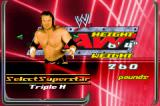 WWE Survivor Series Game Boy Advance Select your fighter.