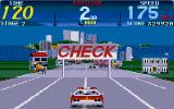 Cisco Heat: All American Police Car Race Amiga First checkpoint in the game