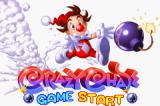 Kid Klown in Crazy Chase Game Boy Advance Title Screen.