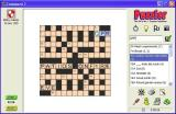 Puzzler 1000 Crosswords Windows Playing a game using the Tuscan display option
