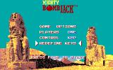 Mighty Bombjack DOS Game Options