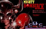 Mighty Bombjack DOS Title screen