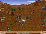 Heroes of Might and Magic II: The Succession Wars Windows Unicorn attacks!