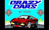 Crazy Cars Thomson TO Title screen