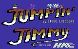 Jumpin' Jimmy Commodore 64 Title Screen.