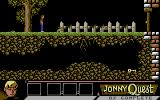 Jonny Quest Commodore 64 Start of your quest.