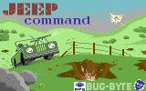 Jeep Command Commodore 64 Loading Screen.