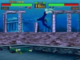 Virtua Fighter 2 Windows Game takes place underwater when slow motion is turned on
