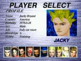 Virtua Fighter 2 Windows Player Selection