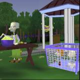 Rugrats: Search for Reptar PlayStation Grandpa's Teeth mini game. In a short animation Grandpa takes his teeth out so he can scoff the potato salad. The dog takes them and Tommy sets off to find them.