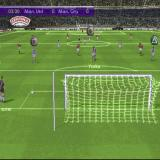 FIFA 2001: Major League Soccer PlayStation A goal kick. The symbols show who the keeper can pass the ball to. The same idea is used for corners and throw-ins. The current active player, Yorke, is nowhere near any of them