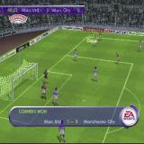 FIFA 2001 PlayStation Taking a corner. As with free kicks and throw-ins the corner taker can target a player identified by the square and circle icons