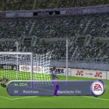 FIFA 2001 PlayStation A goal is scored. Quite a neat piece of play by the AI who tackled the keeper. Cue celebrations and action replays