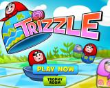 Trizzle Browser Title screen.