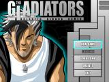The Gladiators: Galactic Circus Games Windows Main Menu