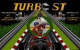 Turbo ST Atari ST Title picture