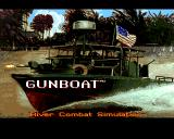 Gunboat Amiga Title screen