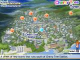 Cherry Tree High: Comedy Club! Windows You can travel from location to location via the town's map.