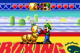 Game & Watch Gallery 4 Game Boy Advance Boxing is just that.  You need to hit your opponent with high and low punches while blocking any punches against you