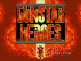 Gunstar Heroes Windows Title screen
