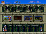 Gunstar Heroes Windows Select a world.