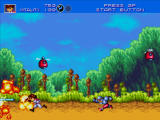 Gunstar Heroes Windows I love explosions!